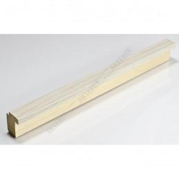 SCO944/380 26x33 - wąska jasny popiel-biel rama do zdjęć i luster sample
