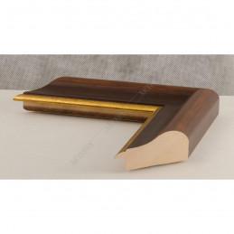 SCO951/NAFO 54x30 - drewniana noce brązowa rama do obrazów i luster sample1