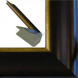 SCO951/NAFO 54x30 - drewniana noce brązowa rama do obrazów i luster sample2