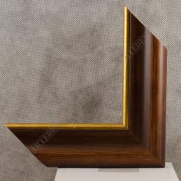 SCO951/NAFO 54x30 - drewniana noce brązowa rama do obrazów i luster sample