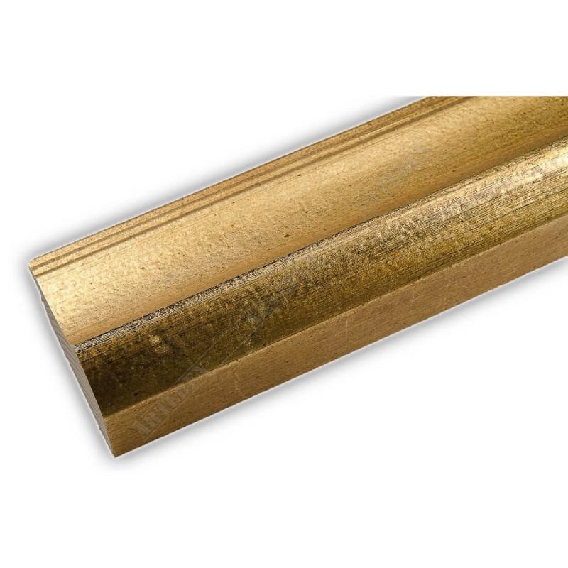 SCO958/145 50x35 - drewniana złota rama do obrazów i luster