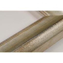 SCO958/146 50x35 - drewniana złota rama do obrazów i luster