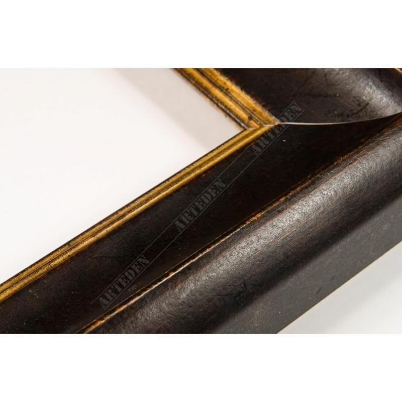 SCO958/147 50x35 - drewniana mahoniowa rama do obrazów i luster