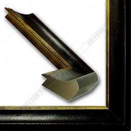 SCO958/147 50x35 - drewniana mahoniowa rama do obrazów i luster sample