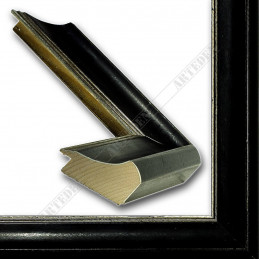 SCO958/148 50x35 - drewniana czarna rama do obrazów i luster sample2