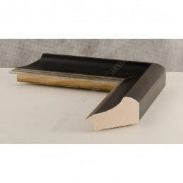 SCO958/148 50x35 - drewniana czarna rama do obrazów i luster sample1