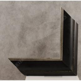 SCO958/148 50x35 - drewniana czarna rama do obrazów i luster sample