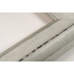 SCO958/149 50x35 - drewniana biała rama do obrazów i luster