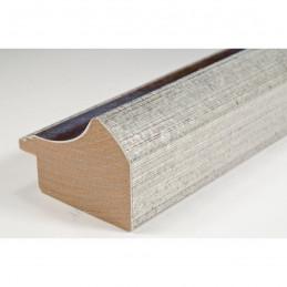 SCO958/153 50x35 - drewniana mahoń-srebrna rama do obrazów i luster sample1