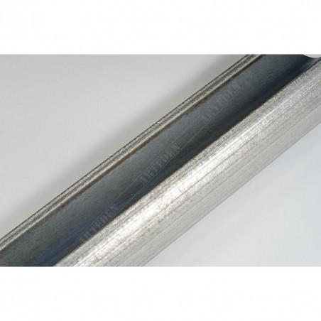 SCO958/154 50x35 - drewniana szaro srebrna rama do obrazów i luster