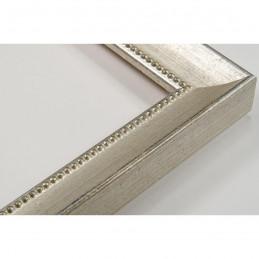 SCO959/146 25x23 - wąska srebrna rama do zdjęć i luster