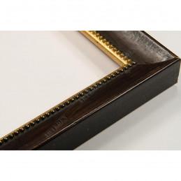 SCO959/147 25x23 - wąska mahoniowa rama do zdjęć i luster
