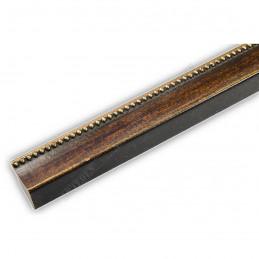 SCO959/147 25x23 - wąska mahoniowa rama do zdjęć i luster sample