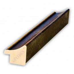 SCO959/147 25x23 - wąska mahoniowa rama do zdjęć i luster sample4