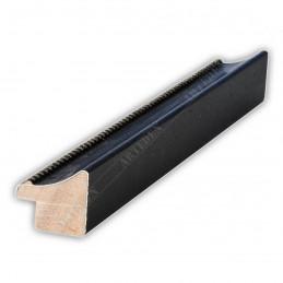 SCO959/148 25x23 - wąska czarna kuleczki rama do zdjęć i luster sample