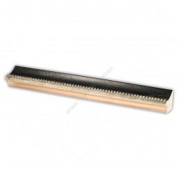 SCO959/148 25x23 - wąska czarna kuleczki rama do zdjęć i luster sample1