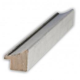SCO959/149 25x23 - wąska biała-srebrna rama do zdjęć i luster sample4