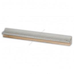SCO959/149 25x23 - wąska biała-srebrna rama do zdjęć i luster sample2