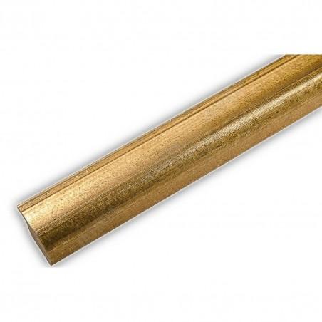 SCO960/145 25x22 - wąska złota rama do zdjęć i luster