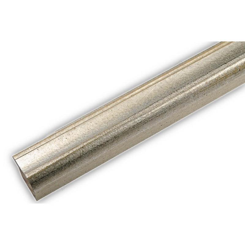 SCO960/146 25x22 - wąska srebrna rama do zdjęć i luster