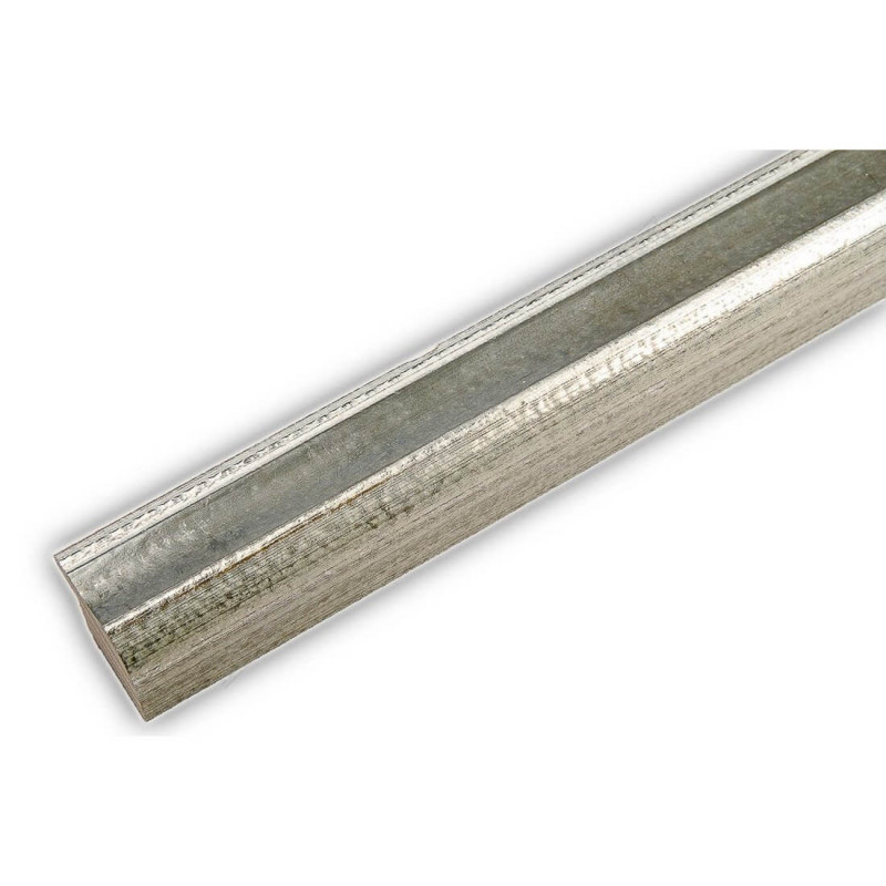 SCO960/152 25x22 - wąska szara-srebrna rama do zdjęć i luster