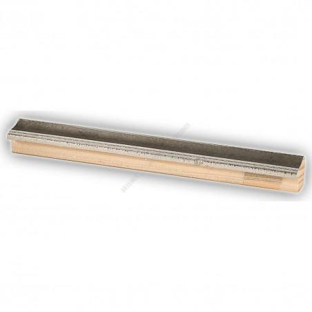 SCO960/152 25x22 - wąska szara-srebrna rama do zdjęć i luster sample1