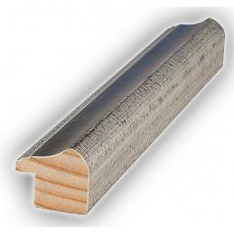 SCO960/152 25x22 - wąska szara-srebrna rama do zdjęć i luster sample