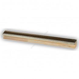SCO960/153 25x22 - wąska mahoń-srebro rama do zdjęć i luster sample1