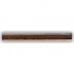 SCO960/153 25x22 - wąska mahoń-srebro rama do zdjęć i luster sample2