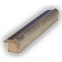 SCO960/153 25x22 - wąska mahoń-srebro rama do zdjęć i luster sample