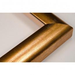 SCO996/32 30x32 - wąska złota rama do zdjęć i luster