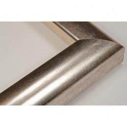 SCO996/33 30x32 - wąska srebrna rama do zdjęć i luster