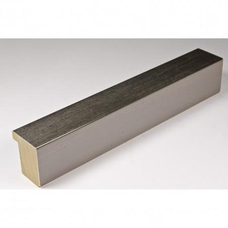 SCO745/412 30x35 - wąska ciemne srebro rama do zdjęć i luster