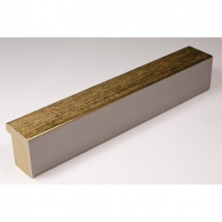 SCO745/414 30x35 - wąska złota rama do zdjęć i luster