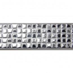 INK3237.675 32x17 - wąska srebrna kratka rama do zdjęć i luster sample1