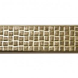 INK3237.726 32x17 - wąska złota matowa kratka rama do zdjęć i luster sample1