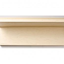 INK1131.330 40x55 - drewniana american box kremowa rama do obrazów i luster sample1
