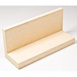 INK1131.330 40x55 - drewniana american box kremowa rama do obrazów i luster