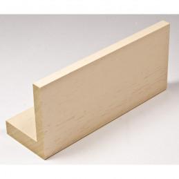INK1131.330 40x55 - drewniana american box kremowa rama do obrazów i luster sample