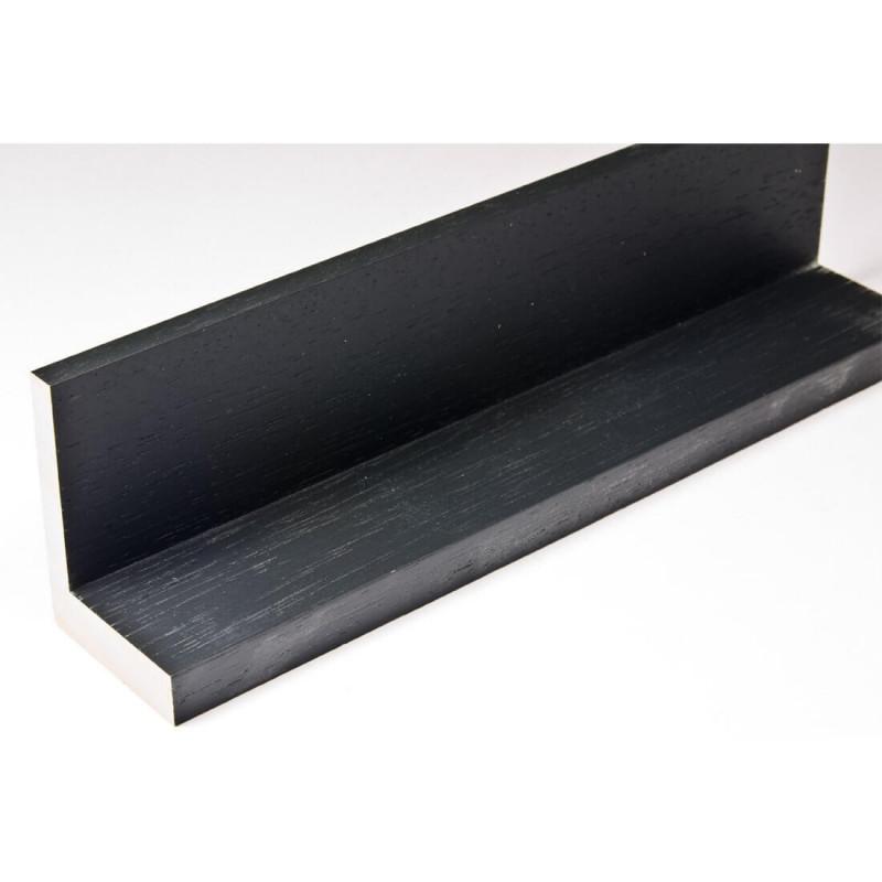 INK1131.370 40x55 - drewniana american box czarna rama do obrazów i luster