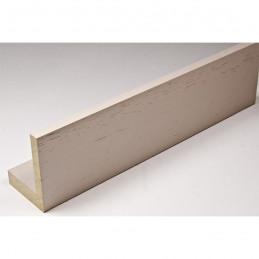 INK1131.373 40x55 - drewniana american box szary jasny rama do obrazów i luster sample