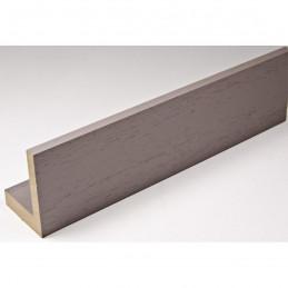 INK1131.375 40x55 - drewniana american box szary ciemny rama do obrazów i luster sample