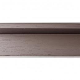 INK1131.375 40x55 - drewniana american box szary ciemny rama do obrazów i luster sample1