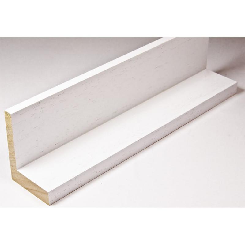 INK1131.380 40x55 - drewniana american box biała rama do obrazów i luster