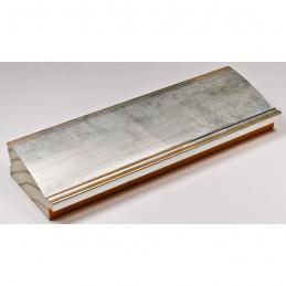 INK7802.652 70x30 - drewniana srebrna rama do obrazów i luster sample