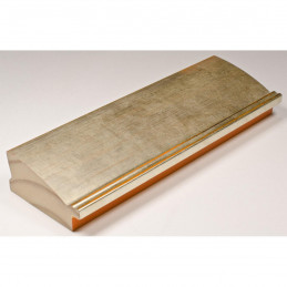 INK7802.672 70x30 - drewniana złoto jasne rama do obrazów i luster sample