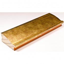 INK7802.759 70x30 - drewniana złoto ciemne rama do obrazów i luster sample