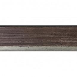 SCO601/294 15x20 - mała skośna ciemny brąz ramka do zdjęć i obrazków sample1