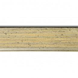 SCO601/295 15x20 - mała skośna szaro-złota ramka do zdjęć i obrazków sample1