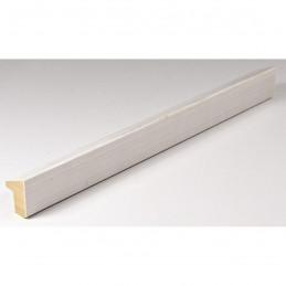 SCO601/474 15x20 - mała skośna biała z naturalną przecierką ramka do zdjęć i obrazków sample